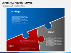 Challenge and outcome PPT slide 4