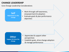 Change Leadership PPT slide 11