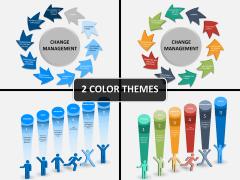Change management PPT cover slide