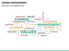 Change management PPT slide 20