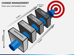 Change management PPT slide 1