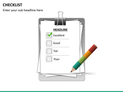 Checklist PPT slide 15