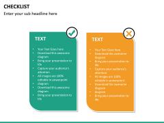Checklist PPT slide 24