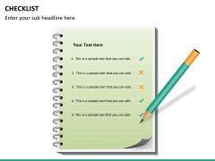 Checklist PPT slide 27