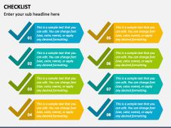 Checklist PPT slide 16