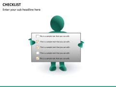 Checklist PPT slide 23