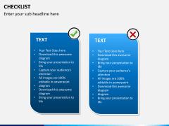 Checklist PPT slide 10