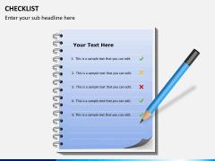 Checklist PPT slide 13