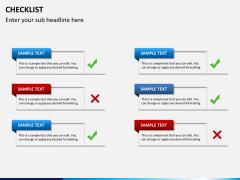Checklist PPT slide 6