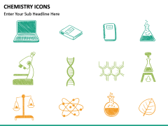 Chemistry Icons PPT slide 6