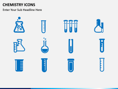 Chemistry Icons PPT slide 1
