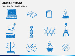 Chemistry Icons PPT slide 3
