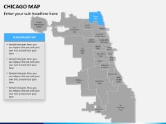 Chicago map PPT slide 10