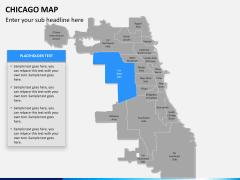 Chicago map PPT slide 11