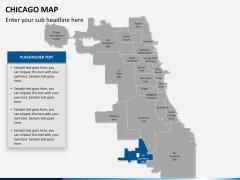 Chicago map PPT slide 13