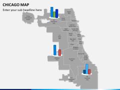 Chicago map PPT slide 14
