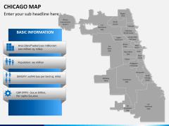 Chicago map PPT slide 15