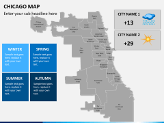 Chicago map PPT slide 16