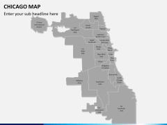 Chicago map PPT slide 2