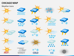 Chicago map PPT slide 20