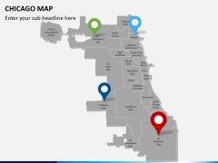 Chicago map PPT slide 6