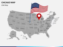 Chicago map PPT slide 7