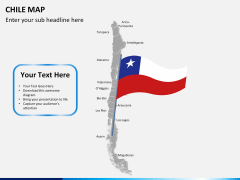 Chile map PPT slide 20