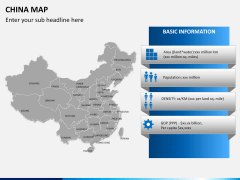 China map PPT slide 19