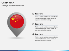 China map PPT slide 24