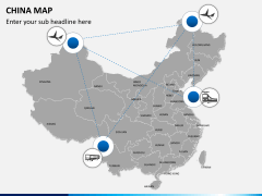 China map PPT slide 6