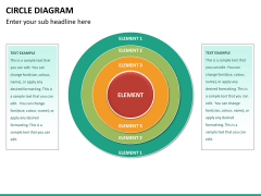 Circle diagram PPT slide 34