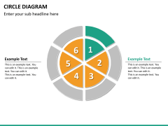 Circle diagram PPT slide 48