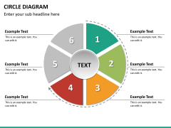 Circle diagram PPT slide 49