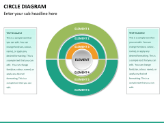 Circle diagram PPT slide 35