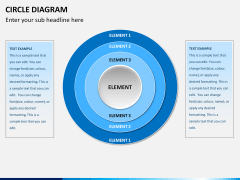 Circle diagram PPT slide 1