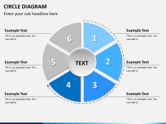 Circle diagram PPT slide 16