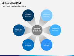 Circle diagram PPT slide 19