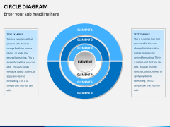 Circle diagram PPT slide 2