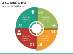 Circle Infographics PPT slide 19