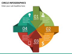 Circle Infographics PPT slide 20