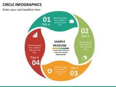 Circle Infographics PPT slide 21
