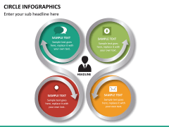 Circle Infographics PPT slide 22