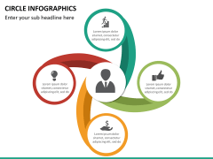 Circle Infographics PPT slide 23