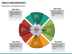 Circle Infographics PPT slide 24