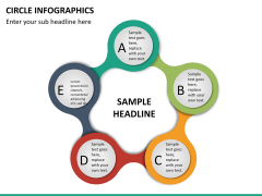Circle Infographics PPT slide 25