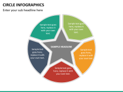 Circle Infographics PPT slide 26
