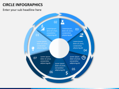 Circle Infographics PPT slide 12