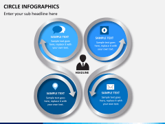 Circle Infographics PPT slide 4