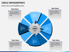 Circle Infographics PPT slide 6