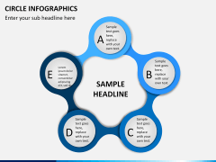 Circle Infographics PPT slide 7
